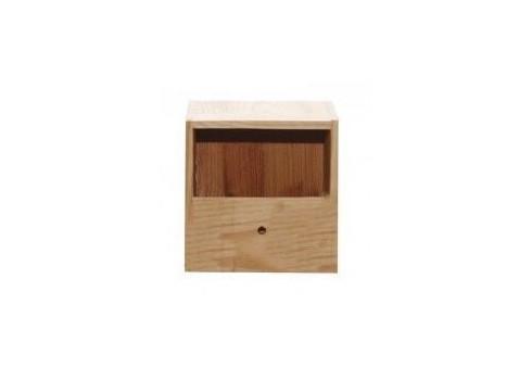 Nido de madera isabelitas