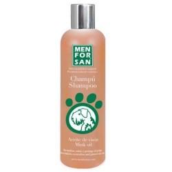 Menforsan champu para perros al aceite de vison 300 ml