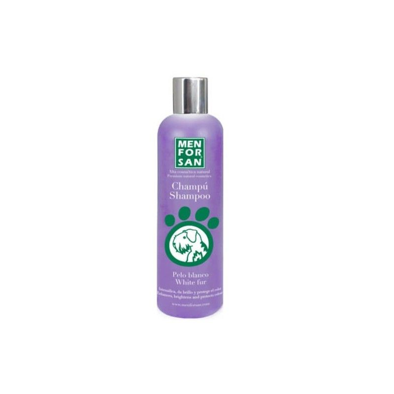 Menforsan champu para perros de pelo blanco 300 ml
