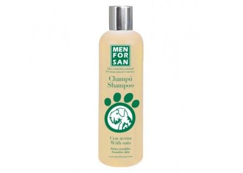 Shampoo Menforsan with oatmeal for sensitive skin 300 ml