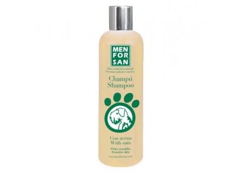 Shampooing Menforsan avec la farine d'avoine pour les peaux sensibles 300 ml