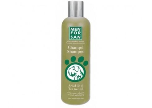 Shampoo Menforsan the tea tree antipicores and relaxing