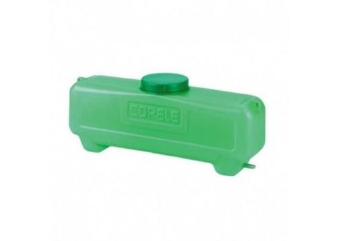 Deposito 7 litros rectangular con salida de 10 mm