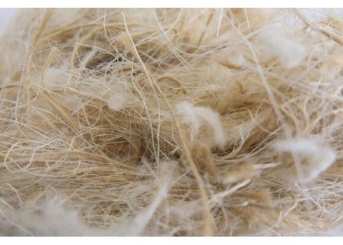 Sisal, pelo, juta y algodón 500 gr litera para roedores