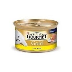 Gourmet Gold avec du poulet Purina 85 gr pour les chats