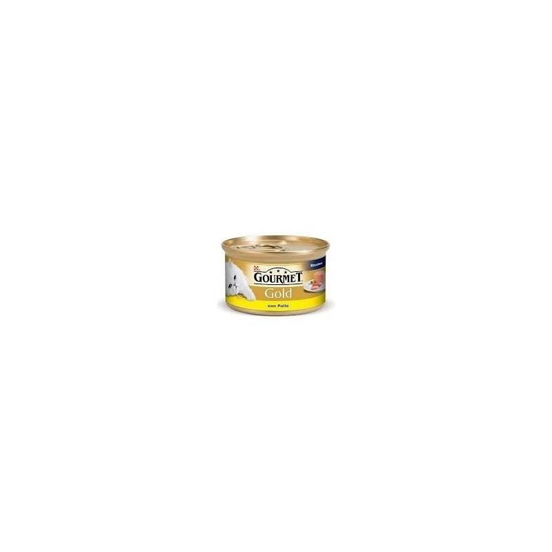 Gourmet Gold con pollo Purina 85 gr para gatos