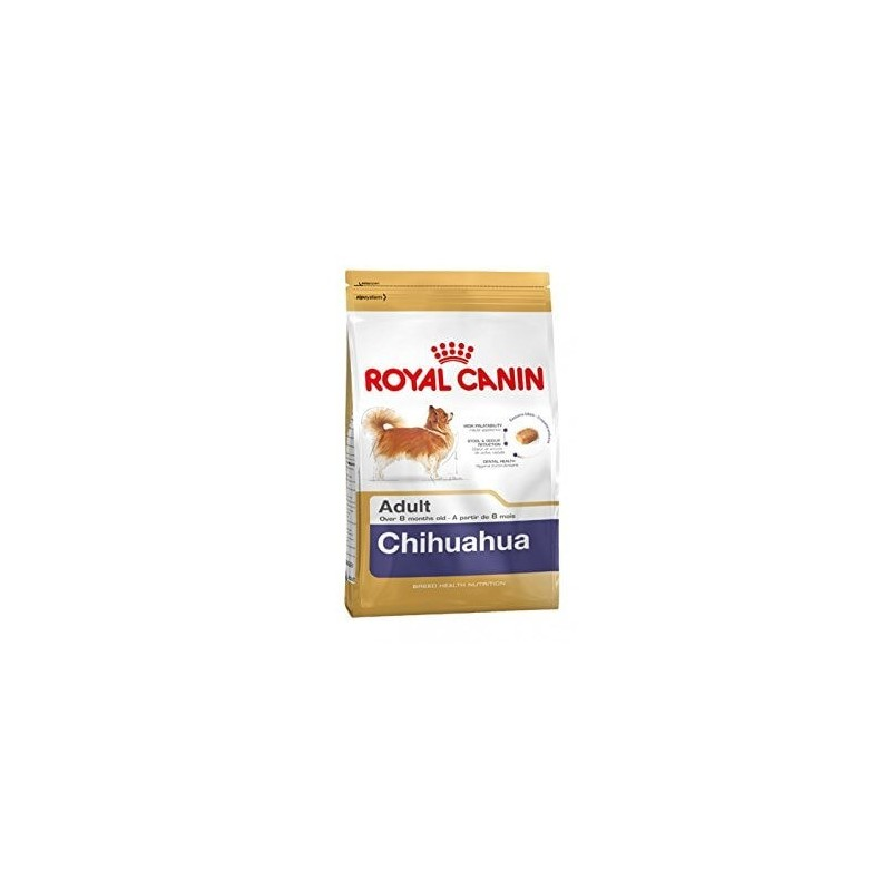Royal Canin Chihuahua adult 1.5 kg + 3 packs de nourriture humide cadeau
