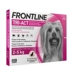 Frontline Tri-Act Pipetas para perros 2-5 kg, 3 pipetas