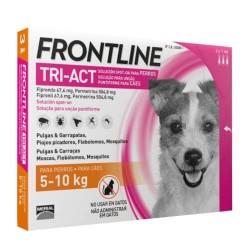 Frontline Tri-Act Pipetas para perros 5-10 kg 3 pipetas