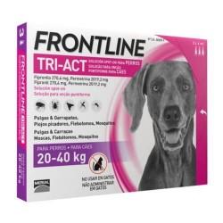 Frontline Tri-Act Pipetas para perros 20-40 kg 3 pipetas