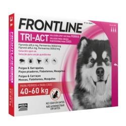 Frontline Tri-Act Pipetas para perros 40-60 kg, 3 pipetas