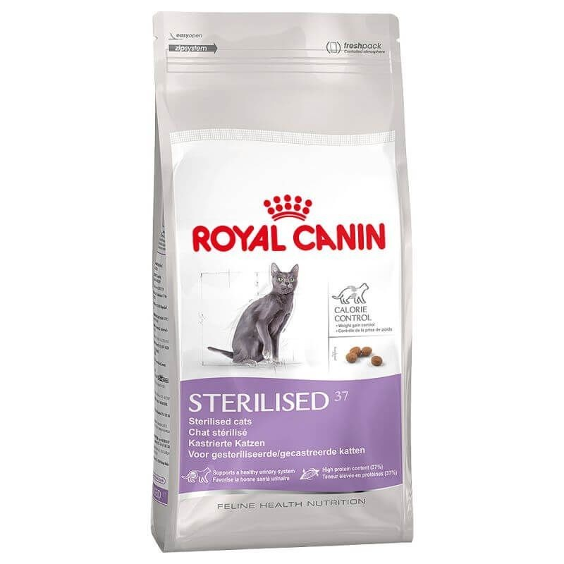Royal Canin Sterilised 37 gatos 400 gr