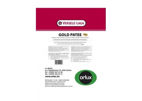 Orlux Goldpatee perruches 25 kg professionnelle