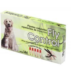 Pipettes répulsifs naturelles pour chiens et chats FLY CONTROL 5pc.