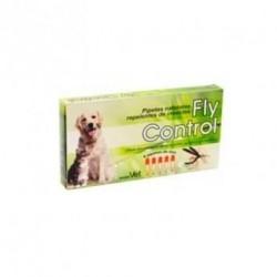 Pipetas repelentes naturales para perros y gatos FLY CONTROL 5 unid.