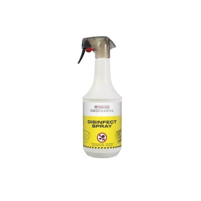 Desifectante de pulvérisation DISIFECT de PULVÉRISATION OROPHARMA VERSELE LAGA 1 litre