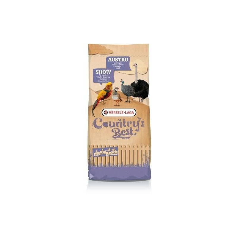 Alimento completo para faisanes y perdices SHOW 3 PELLET VERSELE LAGA 20 kg