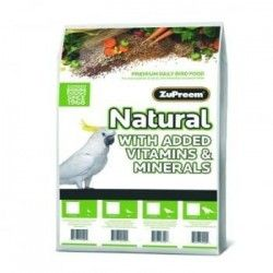 ZuPreem Natural Nymphs and Parakeets - M 9,07 kg