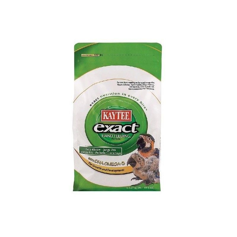 Papilla para cira manual de guacamayos KAYTEE EXACT 2.3 kg