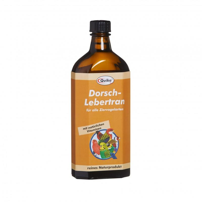 L'huile de foie de morue QUIKO 250 ml