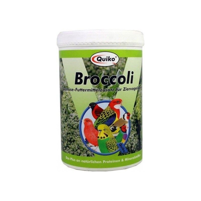 Natural food for birds BROCCOLI QUIKO 100 GR