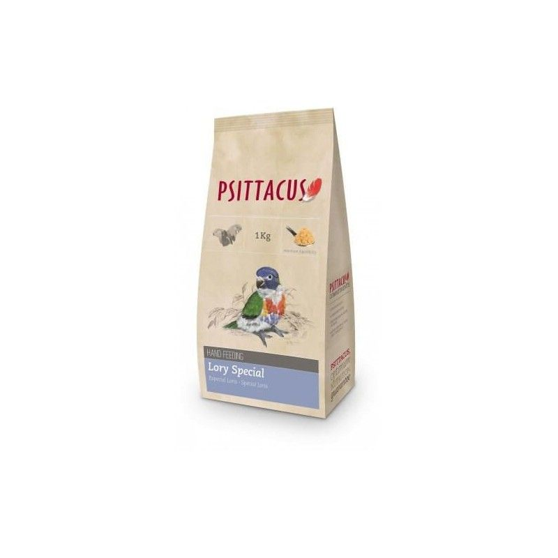 Papilla para lorys PSITTACUS SPECIAL 1 kg