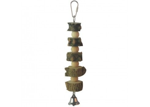 ICA BR418 Natural Wood Toy for Birds