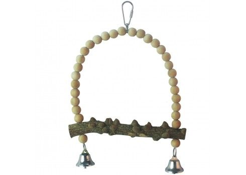 Natural wood toy for birds ICA BR 409