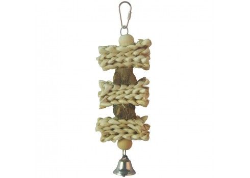 Natural wood toy for birds ICA BR406