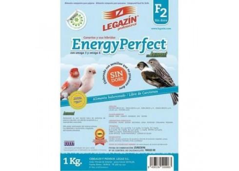 Alimento equilibrado para pájaros LEGAZIN ENERGY PERFECT F2 5 kg