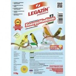 Food for birds LEGAZIN ENERGY MEDIUM F3 5 kg