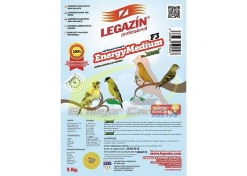 Food for birds LEGAZIN ENERGY MEDIUM F3 5 kg
