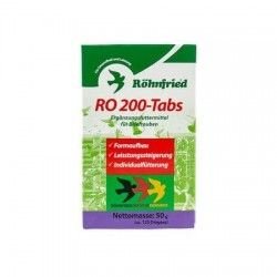 Supplement to birds RO 200 TABS ROHNFRIED 50 gr