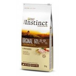 I think for dogs TRUE INSTINCT ORIGINAl JUNIOR MEDIUM MAXI 12 kg