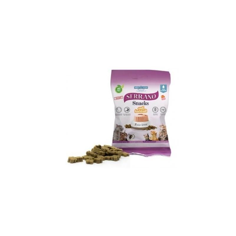Snack para gatos SERRANO sabor hígado 50 gr.