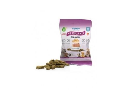Collation pour les chats SERRANO saveur de foie de 50 grammes