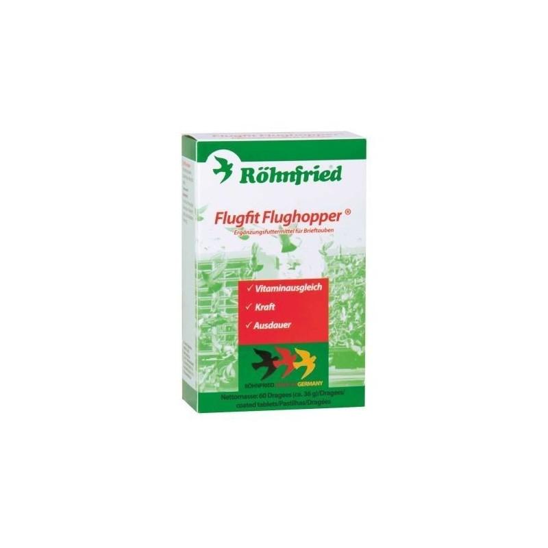 Comprimidos energéticos FLUGFIT FLUGHOPPER ROHNFRIED