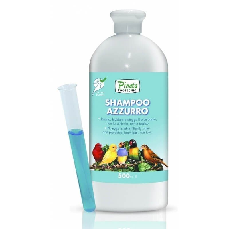Shampoo Blue, 500ML