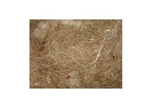 Animal hair, hemp and sisal for nests QUIKO 500 gr