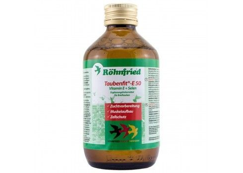 ROHNFRIED E50 taubenfit e + selenium, 250 ml