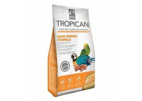 Baby food for parrots and parakeets TROPICAL 400 gr