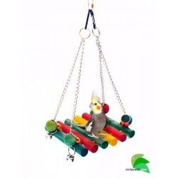 Toy for Parrot wooden