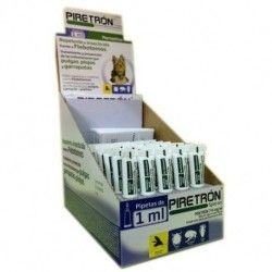 Piretrón small dogs, Pipette against Mosquito, fleas and ticks