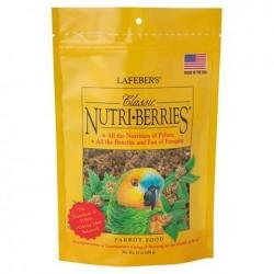 Aliment complet pour perroquets et grandes et moyennes NUTRI BAIES CLASSIQUE 340 gr