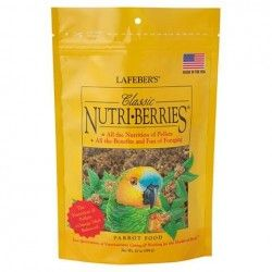 Alimento completo para loros mediano y grandes NUTRI BERRIES CLASSIC 284 gr