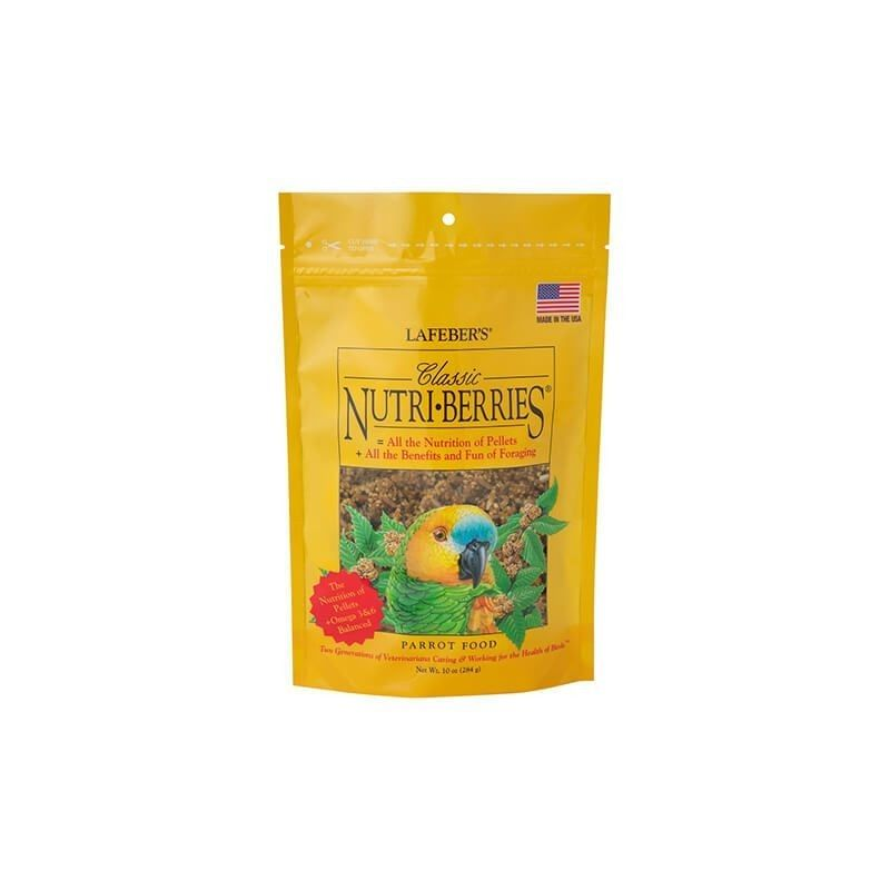 Complete food for medium and large parrots NUTRI BERRIES CLASSIC 284 gr