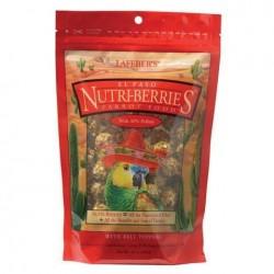 De la nourriture pour perroquets et grandes et moyennes NUTRI BAIES EL PASO 284 gr