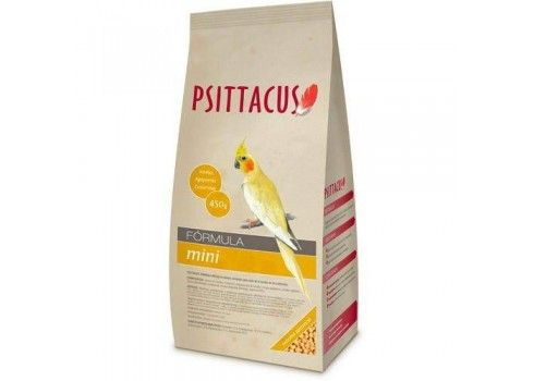 Psittacus Pienso mini, 450 gr. Especial para Ninfas.