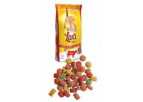 Aliment complet pour chats LARA de BŒUF 2 KG