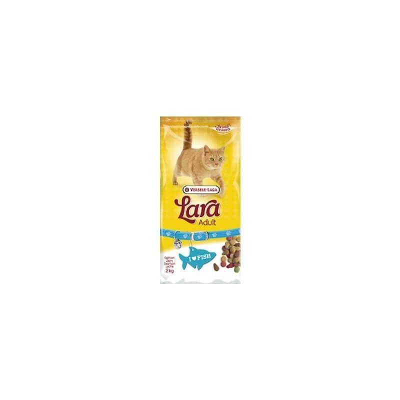 Alimento completo para gatos LARA SALMÓN 2 KG